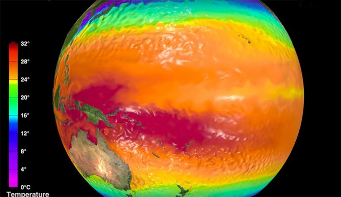 NCI, Australia's national research computing facility, created a stunning video showing exactly how one of the most complex climate systems on earth works.