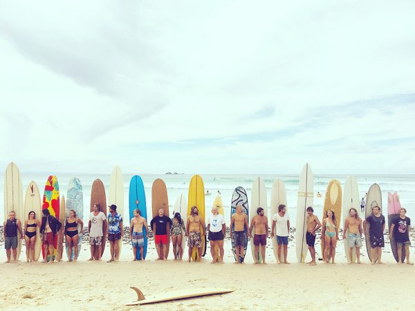 The party wave contest is a good contest. Photo: Weisberg