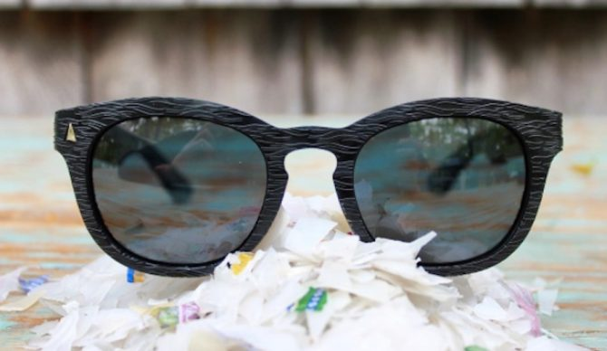 3dc38f63ecb3 This Sunglasses Company Makes Eyewear out of Trashed Ocean Plastic