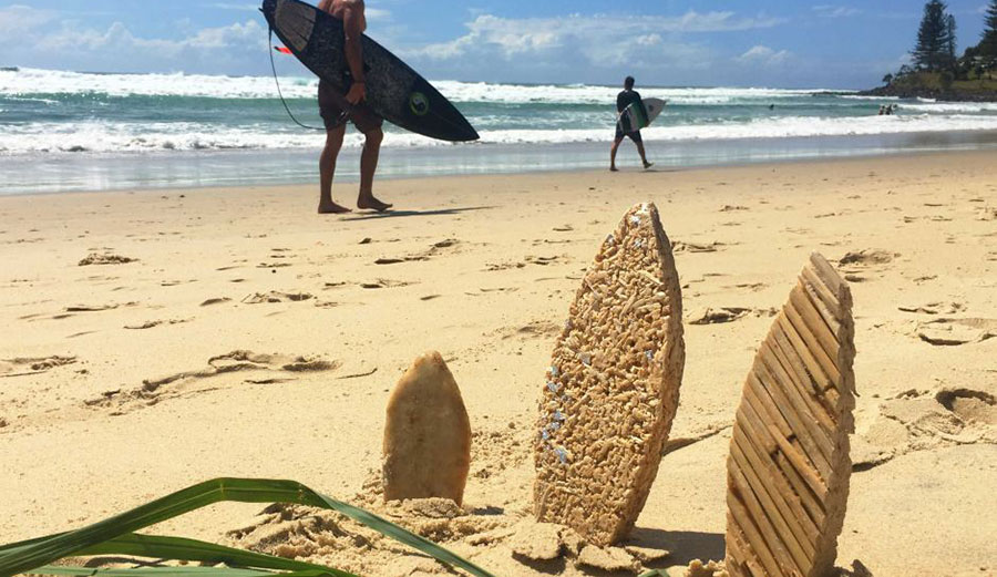 While still in very early stages, the lemongrass-based foam does hold promise. Photo: ABC