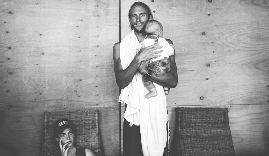 Owen Wright. New dad, new outlook on life. Photo: WSL