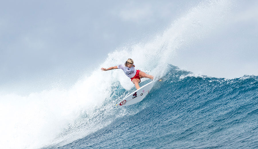 Bethany Hamilton is in very, very fine form this year. Photo: WSL