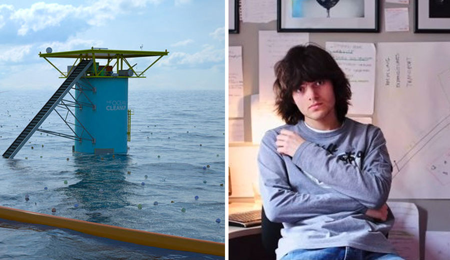 Slat started The Ocean Cleanup in 2013 after he rose to environmental fame when a Ted Talk he gave blew up the internet in 2012. At the time, he was 18 years old, and his idea made so much sense that the world sat up and took notice.