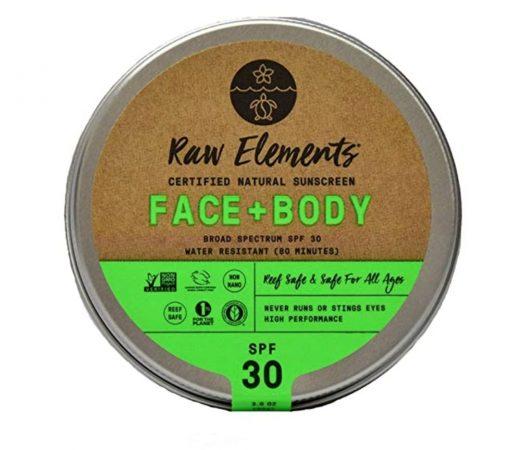 RAW Elements Organic Sunscreen