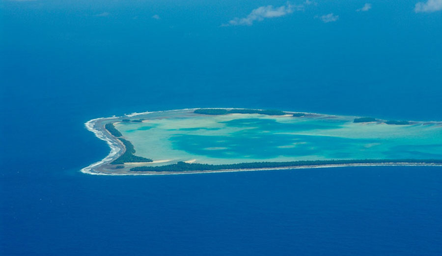 Tuvalu is among those islands facing an imminent risk of extinction. Image: Flicker