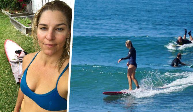 body image bikini surfing