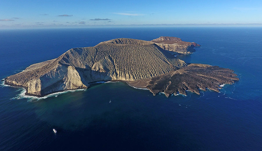 Isla Socorro in the Revillagigedo Archipelago is now part of North America's largest ocean reserve.