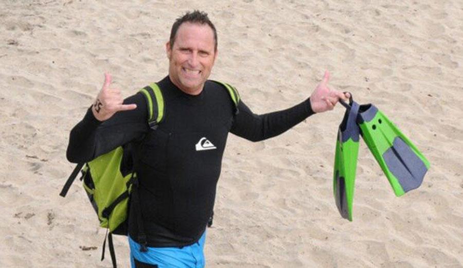 Doug Bradley, a surfer from Imperial Beach, was shot dead in Ixtapa. Photo: NBC