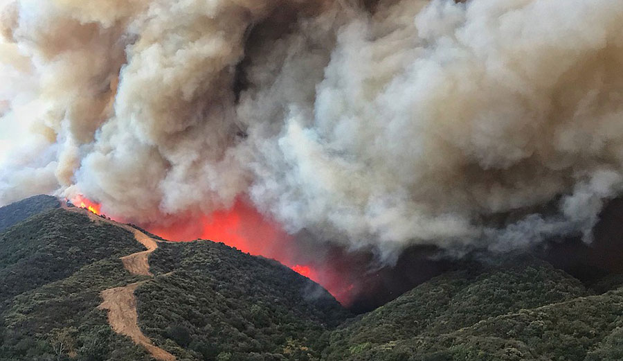 San Diego Health Department >> Thomas Fire Officially Becomes Largest Wildfire on California Records | The Inertia