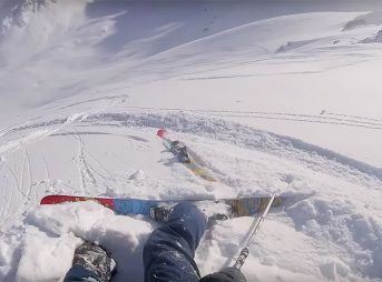 This Guy Experienced the Worst Heli-Skiing Run Possible