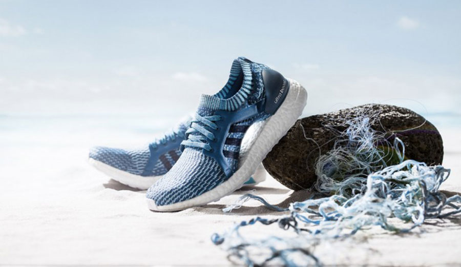 Adidas. Making shoes out of garbage. We like. Photo: Adidas