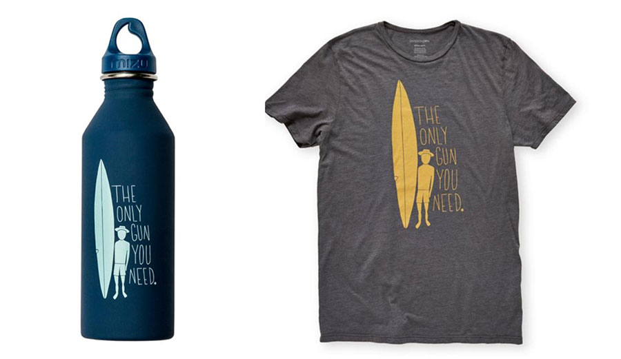 Buy a shirt. Buy a water bottle. Support Everytown for Gun Safety.
