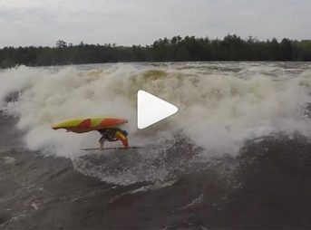 buy online ed409 8d174 Heres Whitewater Kayaker Dane Jackson, Surfing Weird Waves Really Well.  The Inertia Mountain