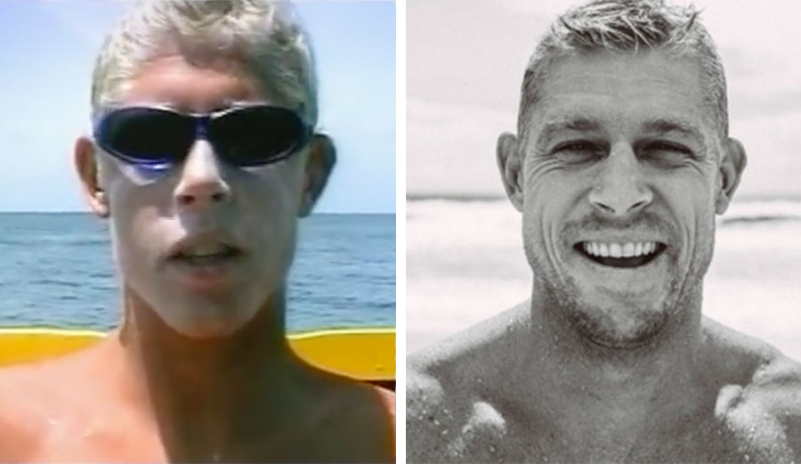 Mick Fanning, 1998 to 2017. Oh, what a difference experience makes!