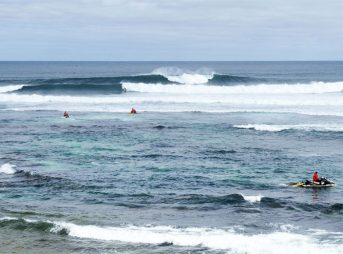 After a pair of shark attacks in nearby Gracetown, the Margaret River Pro has been cancelled. Image WSL