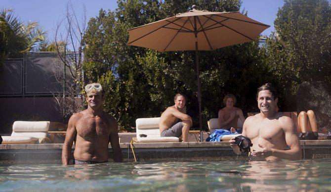 Laird Hamilton Pool Workout