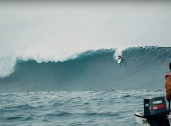 Kelly Slater, shown here not on the level he wants and needs to be to compete. Image: Screenshot/Surfer