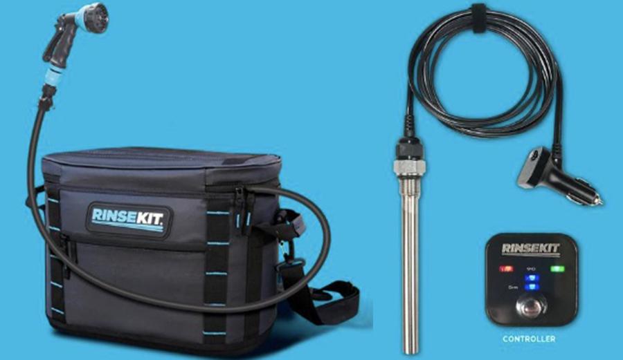 Gear We Test Rinsekit S Hot Rod Water Heater The Inertia