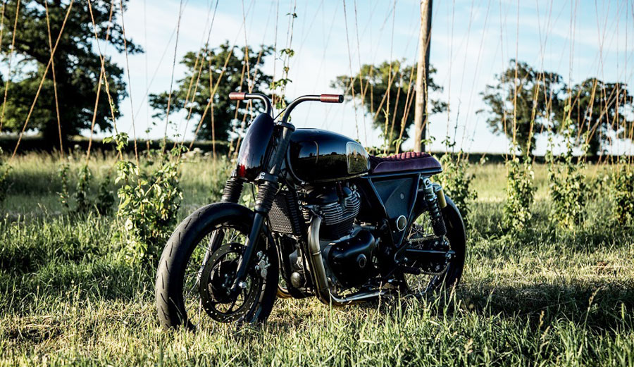 The 'Interceptor' – By Old Empire Motorcycles. Image: Royal Enfield