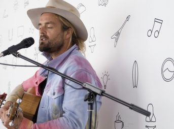 Xavier Rudd Performs Storm Boy at The Inertia Office