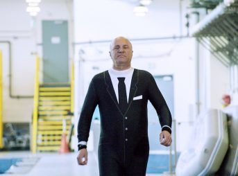 This Shark Week, Kevin O'Leary from ABC's Shark Tank, sports a different kind of suit. Photo: Discovery