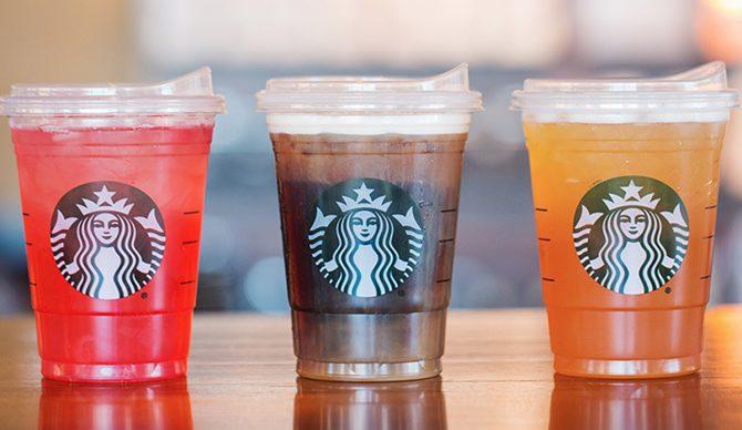 Starbucks: strawless by 2020.