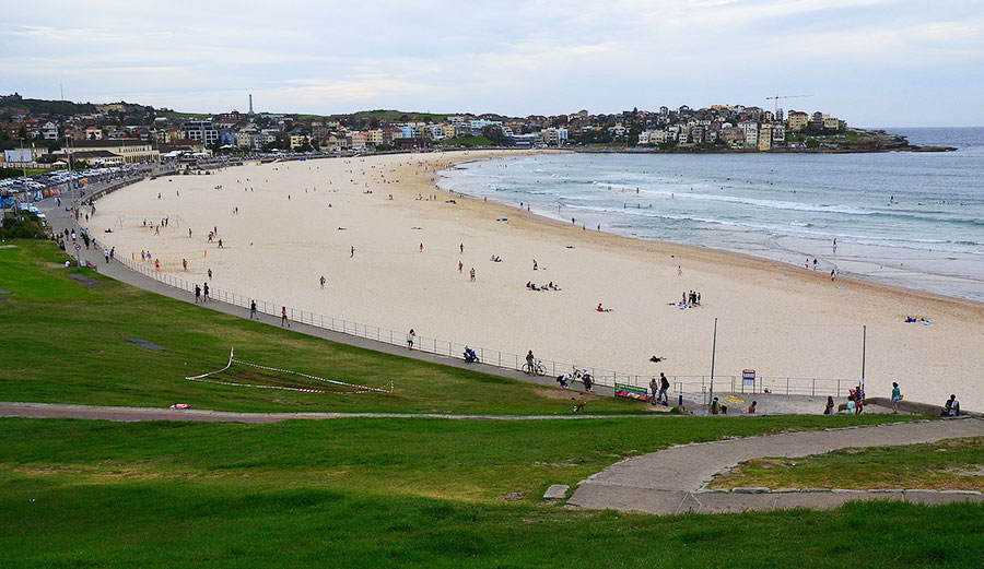 Bondi Beach, a National Surfing Reserve