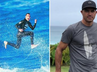 Kelly Slater, Joel Parkinson, surfing, J-Bay