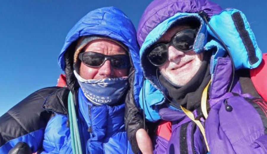 Rick Allen lost in Himalayas