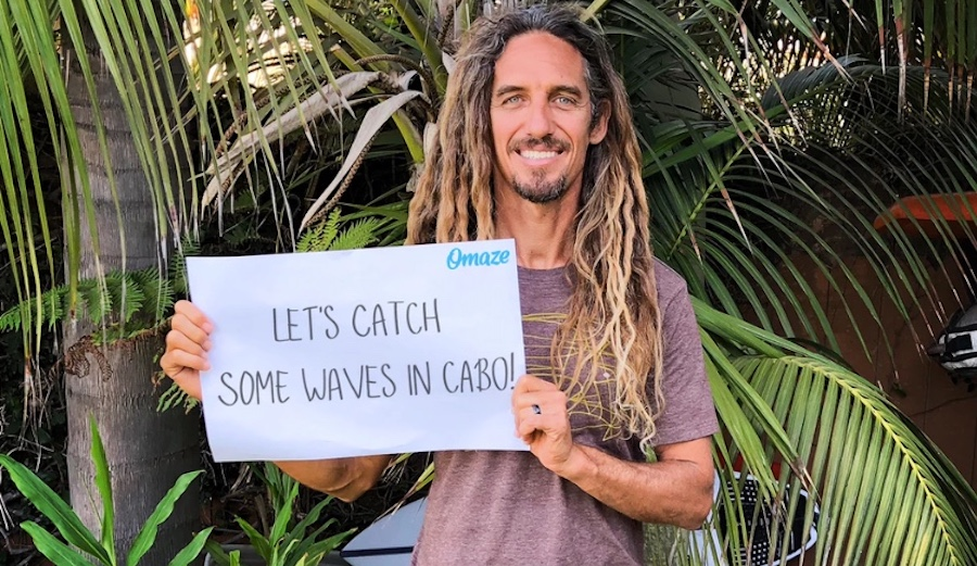 Join Rob Machado, Damien Hobgood, and Timmy Curran in Cabo!