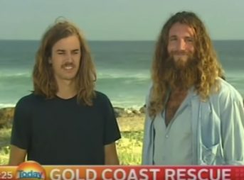 today show, gold coast, australia, surf interview, television