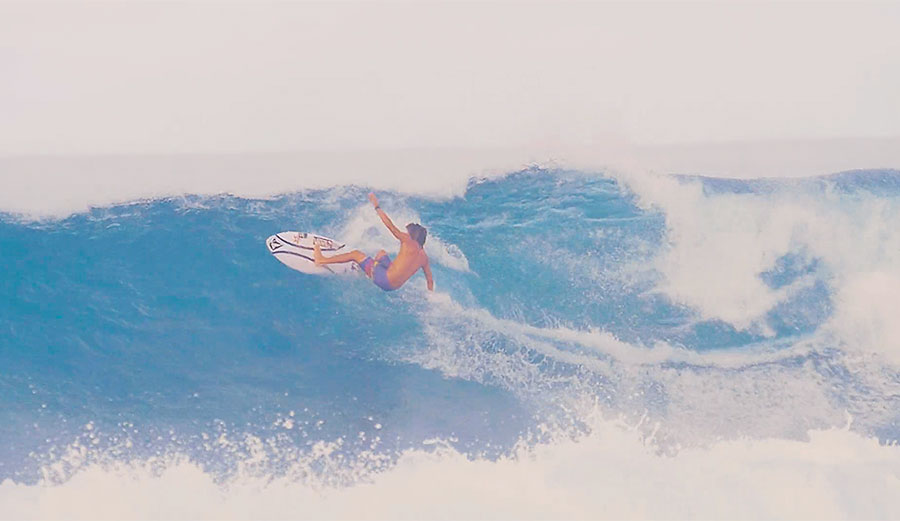 When it comes to surfing in Hawaii, there is a very large number of up-and-comers. It takes a lot to rise to the top of the bucket of cream, but Cody Young and Imaikalani Devault have certainly risen.