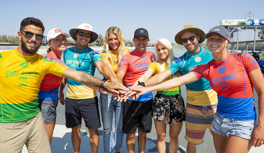 The WSL has become the first US-based sporting league to offer equal prize money to men and women. Photo: Cestari/WSL