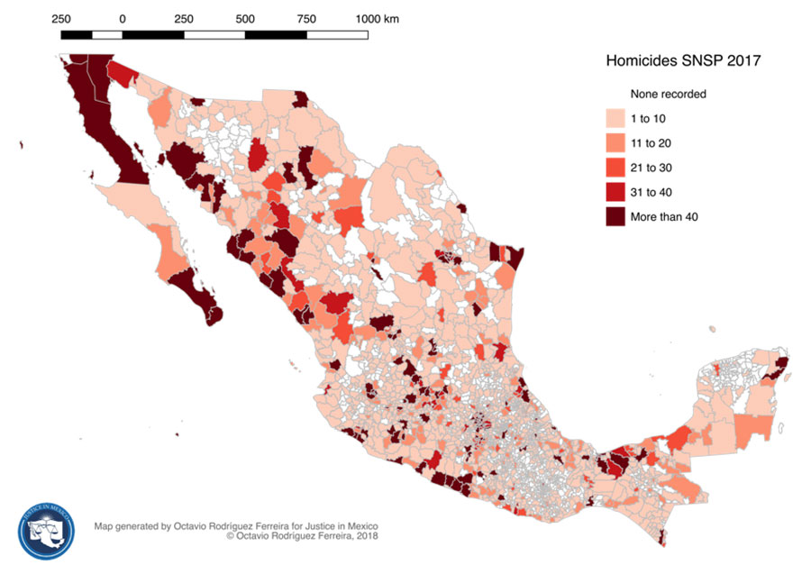 Mexico crime rates