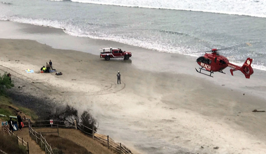 Teen Attacked By Shark While Diving In Encinitas