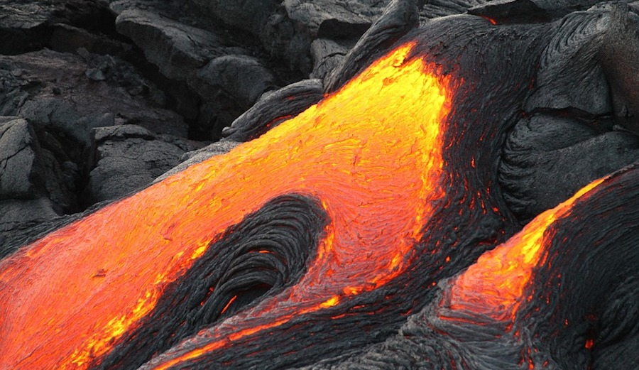 If someone asked you what lava sounds like as it slowly flows down a hill, what would you guess? Does it ooze? Does it gurgle? The answer might surprise you. Photo: Pixabay
