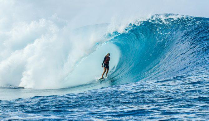 Bethany Hamilton Surfing Fiji Photo: Aaron Lieber