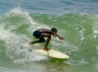The perfectly-groomed left points of Liberia are newfound fodder for the nation's burgeoning surf scene.