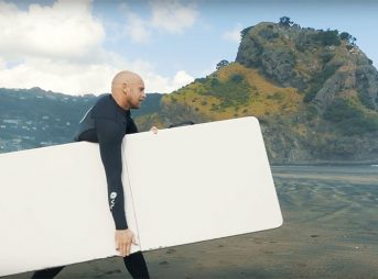 Are tables and surfboard REALLY interchangeable? Raglan Surf Report's Luke Cedarman investigates.