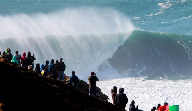 surfing, big wave tour, world surf league, kai lenny, rodrigo koxa, mike parsons, nazare challenge, nazare,