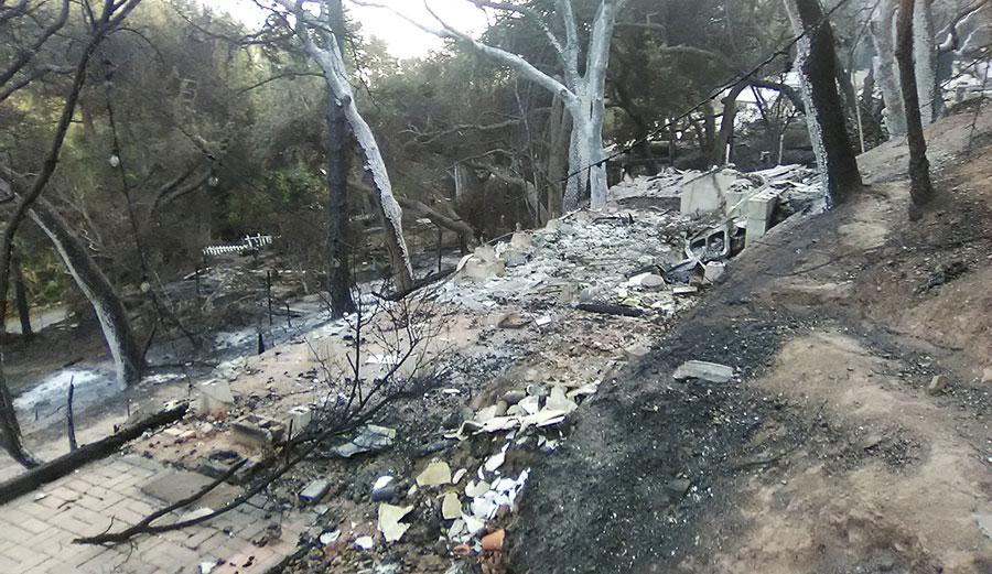 Woolsey fire in california