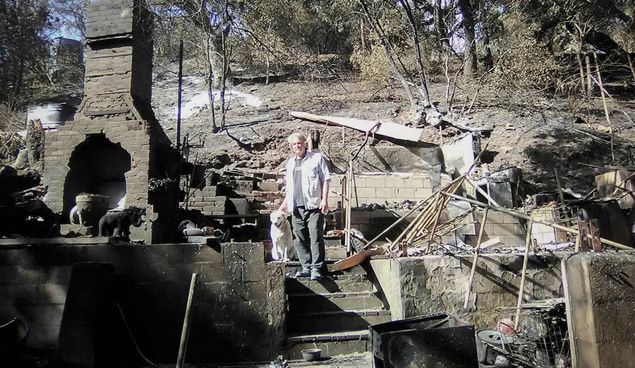 Woolsey fire malibu california.