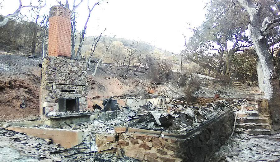 Woolsey fire malibu