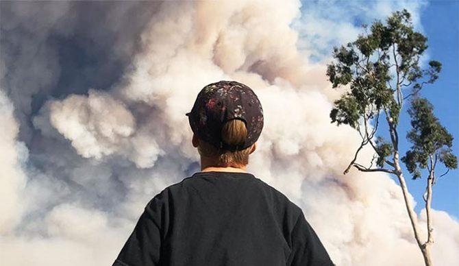 Strider Wasilewski, Malibu, fires,