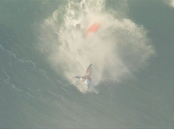 Wipeouts from the Nazare Challenge