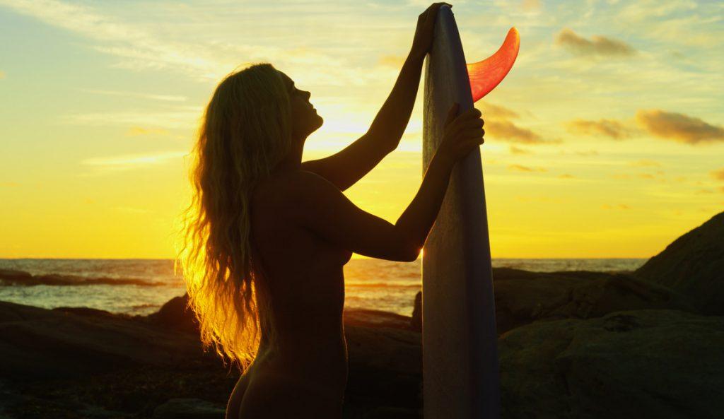 Felicity Palmateer Nude Surf Skin Deep
