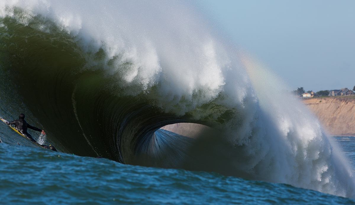 Mavericks big wave surfing
