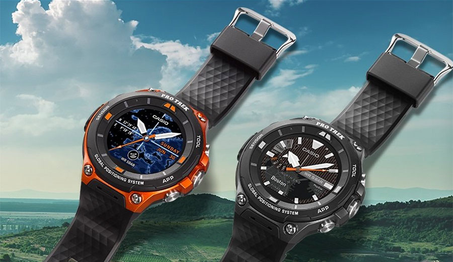 Casio smart watch Pro Trek