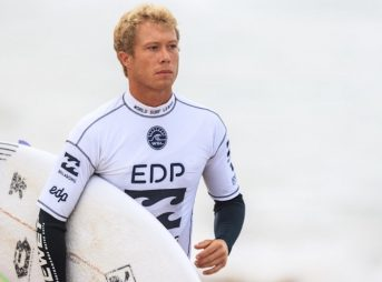 A surf fan has created a GoFundMe campaign to pay Tanner Hendrickson's $5,000 fine for fighting. The WSL has yet to officially fine either Hendrickson or Michael Rodrigues. Photo: WSL/Poullenot