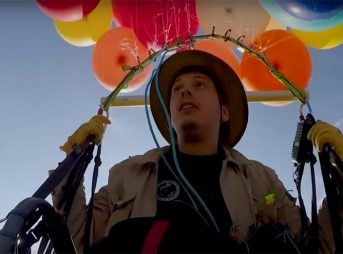 helium, balloons, flying, Up, British man, Great Britain, South Africa, Tom Morgan